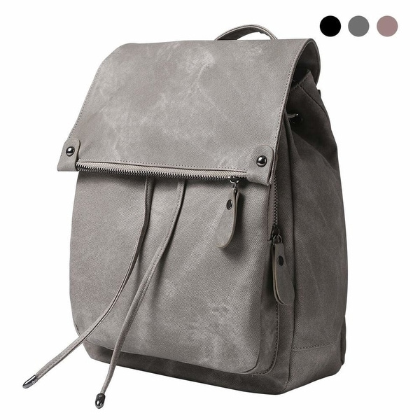 99eecb1eb619 Shop Women Backpack Waterproof Anti-theft Lightweight PU Leather ...