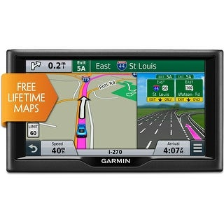 Refurbished Garmin Nuvi 58LMGPS Navigator 5 Dual Orientation Touchscreen Display w/maps of the U.S. and Canada
