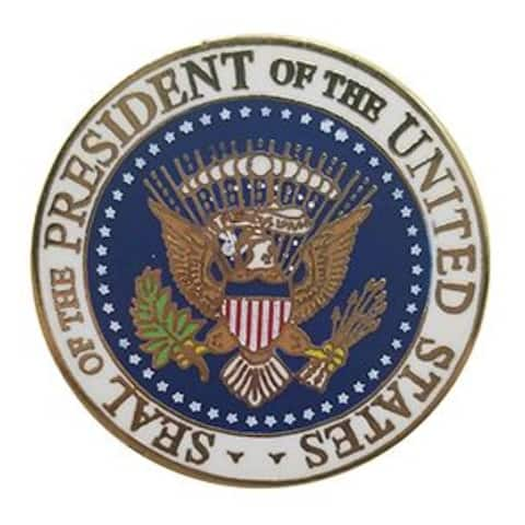 Seal Of The President Of The United States Military Lapel Pin - 1 inch diameter