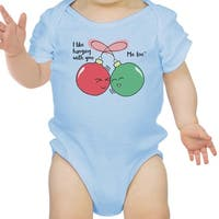 Worth Melting Snowman Blue Baby Bodysuit Baby Girl Birthday Gifts
