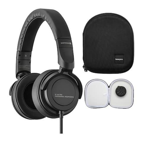 Beyerdynamic DT 240 Pro Closed Studio Headphone for Monitoring w/ Case