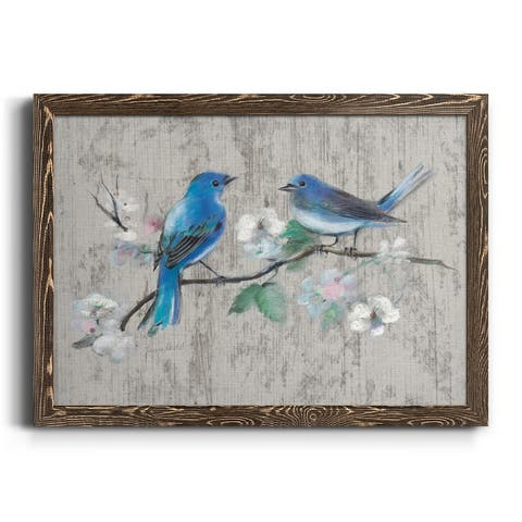 Song of Spring II-Premium Framed Canvas - Ready to Hang