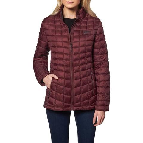 Reebok Packable Puffer Coat for Women- Lightweight Glacier Shield Jacket
