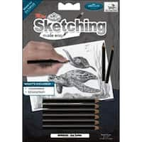 "Sea Turtles - Sketching Made Easy Mini Kit 5""X7"""