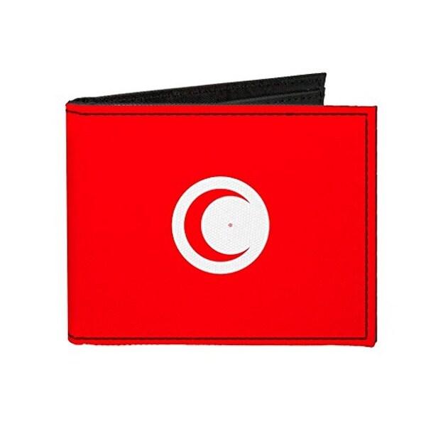 Buckle-Down Canvas Bi-fold Wallet - Tunisia Flag Accessory