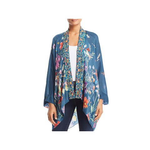 Johnny Was Womens Kimono Summer Paisley - M