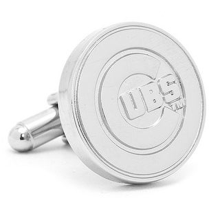 Silver Edition MLB Chicago Cubs Cufflinks