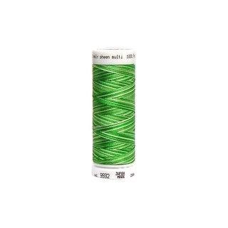 297 4820 9932 Mettler Polysheen Embr Thrd 40 200m Sprng Grass