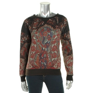 Denim & Supply Ralph Lauren Womens Sweatshirt Paisley Casual - s