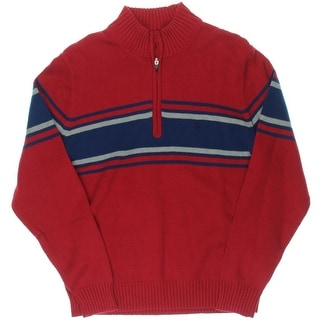 Izod Mens Varisty Full Zip Cardigan Sweater