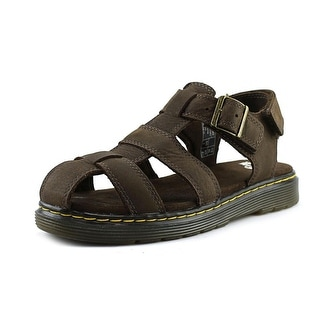 Dr. Martens Air Wair Sailor Youth Round Toe Leather Fisherman Sandal