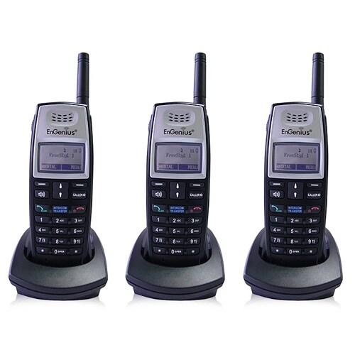 Engenius FreeStyl 1 HC (3 Pack) Cordless Phone Handset