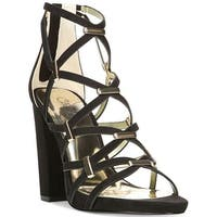 Carlos by Carlos Santana Womens Francesca Fabric Open Toe Special Occasion St... - 8.5