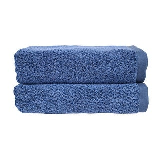 Everplush Diamond Jacquard Performance Core Bath Towel (Set of 2)