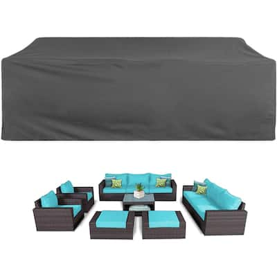Patio Furniture Set Covers Waterproof Dust Proof Protective Covers