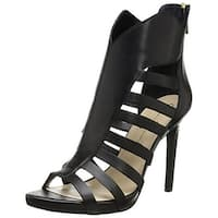 Jessica Simpson Womens JS-NORLINA Leather Open Toe Ankle Strap - 9