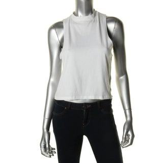 Energie Womens Juniors Crop Top Sleeveless Fitted
