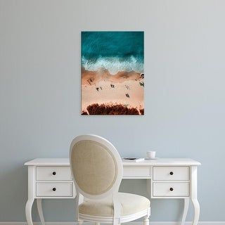 Easy Art Prints Alex Perez's 'Sandy View From Above' Premium Canvas Art