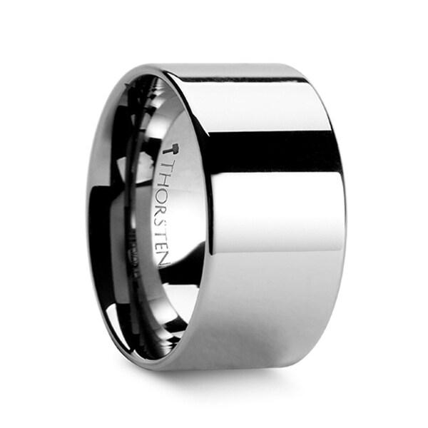 THORSTEN - SPARTAN Flat Tungsten Ring - 12mm