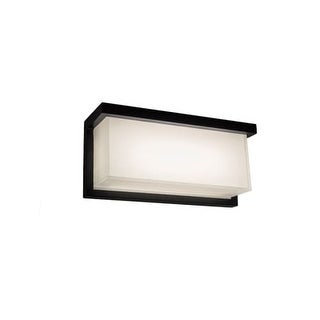 Modern Forms WS-W1412 Ledge 1 Light LED ADA Compliant Outdoor Wall Sconce - 12 Inches Wide