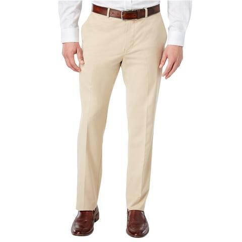 American Rag Mens Solid Dress Slacks