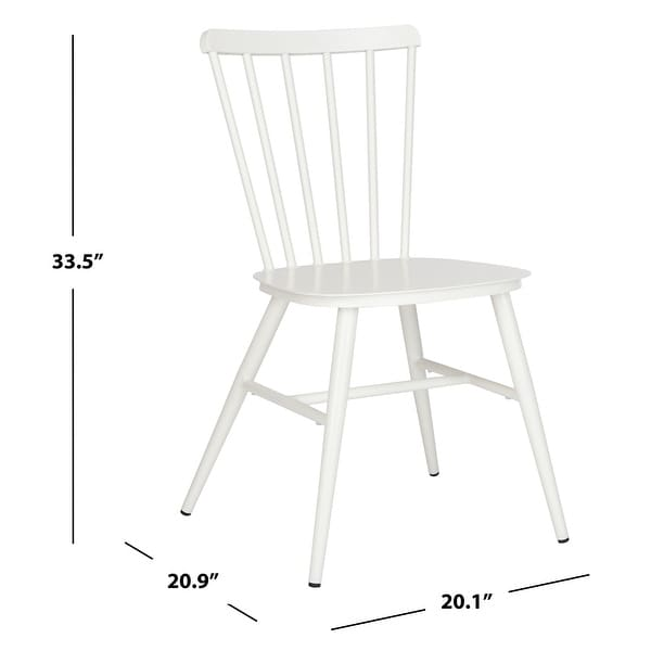 "Safavieh Outdoor Living Chester Stackable Side Chair - 20.1""x20.9""x33.5"""