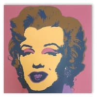Marilyn Monroe #27 by Andy Warhol Portrait Art Print