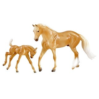 Breyer 1:12 Classics Palomino Quarter Horse and Foal - multi