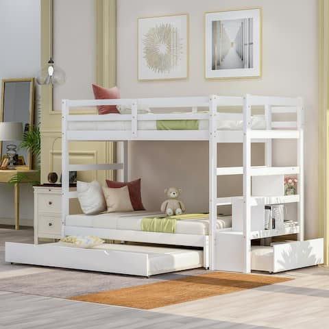Moda King Bunk Bed with Twin Size Trundle
