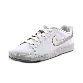Nike Court Majestic Women Round Toe Leather White Tennis Shoe