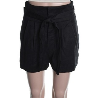 Marc by Marc Jacobs Womens Linen Double Pleat Casual Shorts - 2