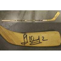 Alexei Zhitnik Autographed Buffalo Sabres Hockey Stick