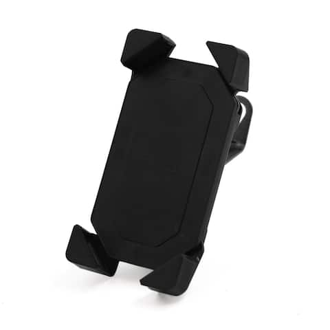Bicycle Motorcycle Handle Bar Mount Adjustable Plastic Mobile Phone Holder