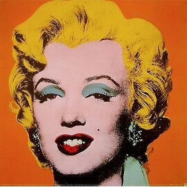 Marilyn Orange, Offset Lithograph, Andy Warhol