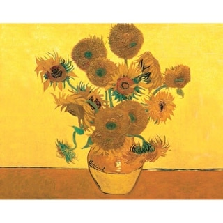 """Paint By Number Kit Artist's Collection 12""""X16""""-Sunflowers"""