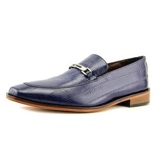Stacy Adams Santiago Men Round Toe Leather Blue Oxford