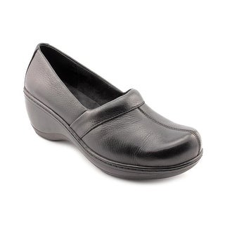 Softwalk Melody Women W Round Toe Leather Clogs