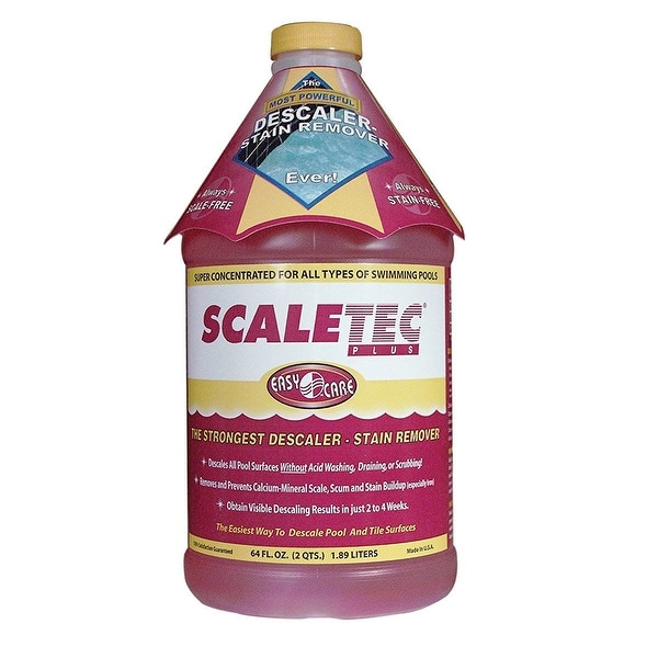 EasyCare 20064 Scaletec Plus Descaler and Stain Remover 64 oz Bottle
