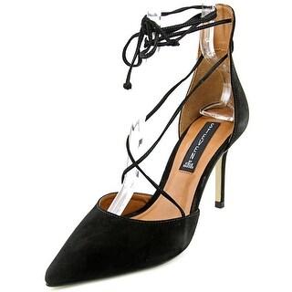 Steve Madden Spiceyy Women Pointed Toe Leather Black Heels