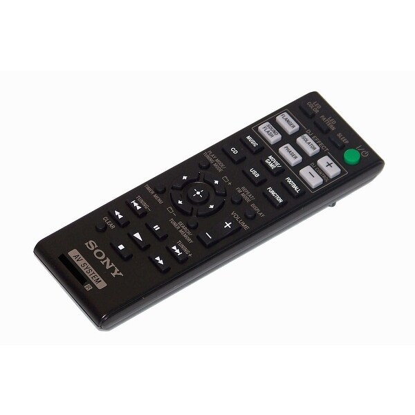 OEM NEW Sony Remote Control Originally Shipped With MHCGPX77, MHC-GPX77