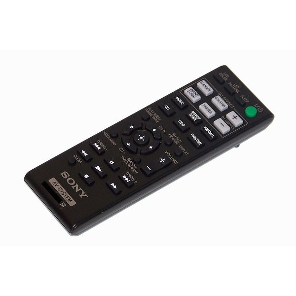 OEM Sony Remote Control Originally Shipped With: LBTGPX77, LBT-GPX77, LBTGPX55, LBT-GPX55