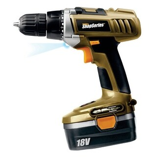 Rockwell RC2804K2 Shop Series Cordless Drill Driver Kit, 18 Volt