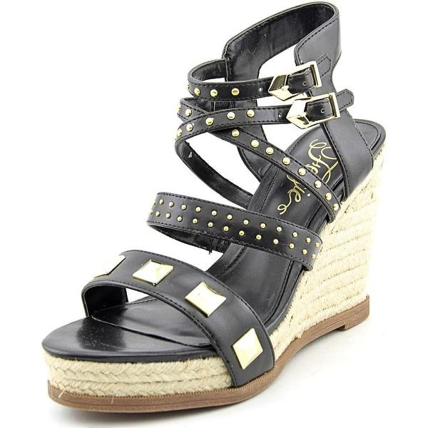 Fergie Averie   Open Toe Synthetic  Wedge Sandal