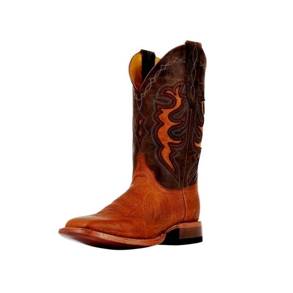 Cinch Western Boots Mens Cowboy Champion Cowhide Square Honey