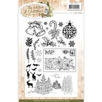 Find It Trading  Precious Marieke Clear Stamps-the Nature of Christmas