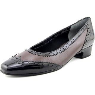 Mark Lemp By Walking Cradles Bradley W Square Toe Leather Flats