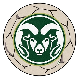 Shop Ncaa Colorado State University Rams Soccer Ball Mat