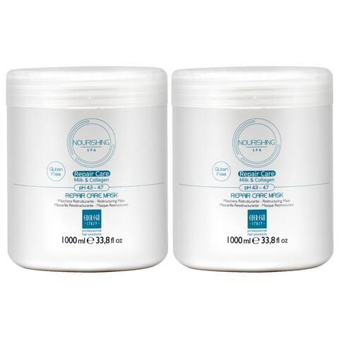 Ever Ego Repair Care Milk Collagen Mask 1000ml 33.8oz (Pack of 2)