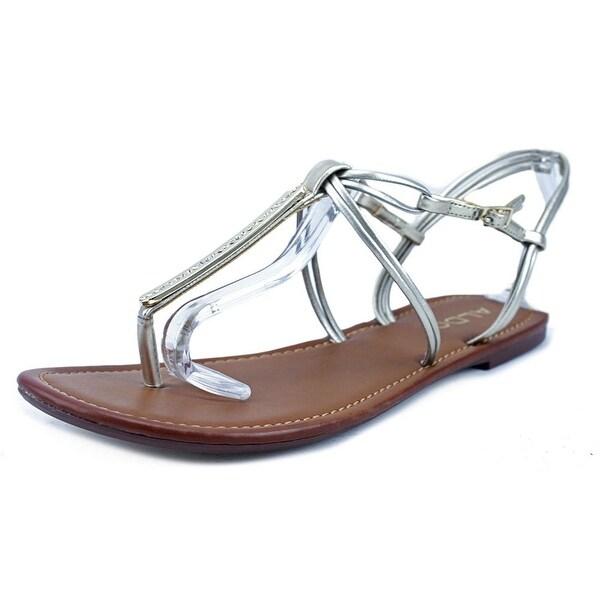 Aldo Kaprisha Women Tan/Gold Sandals