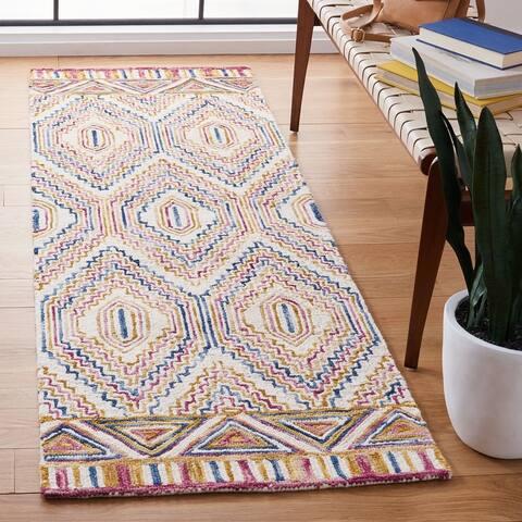 Safavieh Handmade Aspen Doralice Boho Tribal Wool Rug